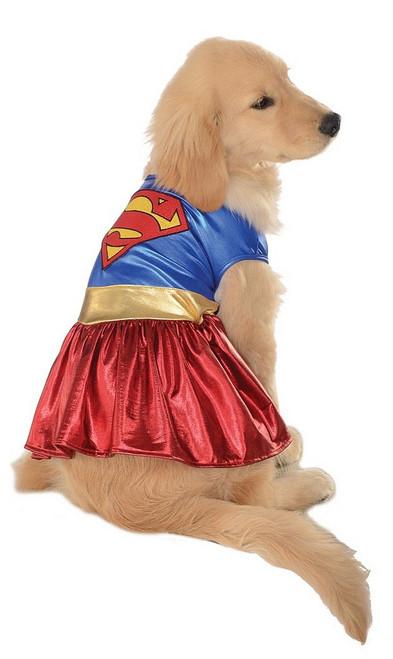Costume de Supergirl Pour Animal