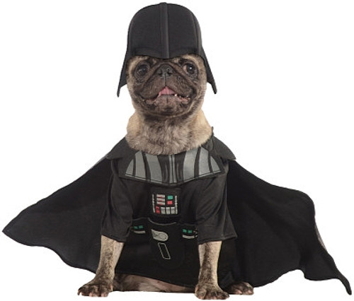 Chien Darth Vader Costume