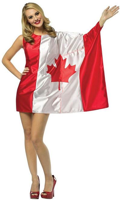 "Costume ""Drapeau Canadien"""