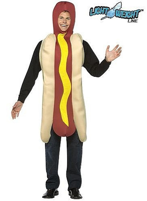 Hot Dog costume adulte