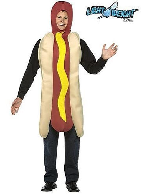Hot Dog costume adulte