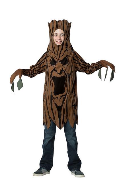 Adolescent Arbre Effrayant Costume