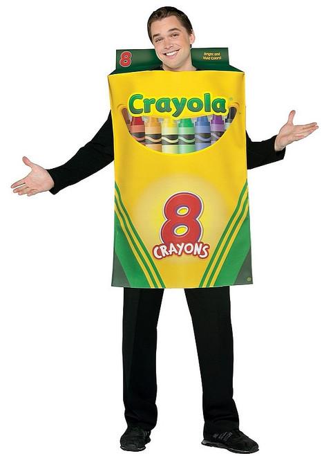 Costume Boite de Crayola pour Adultes