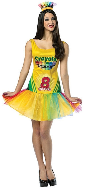 Costume de la Boite a Crayons Crayola pour Adolescent