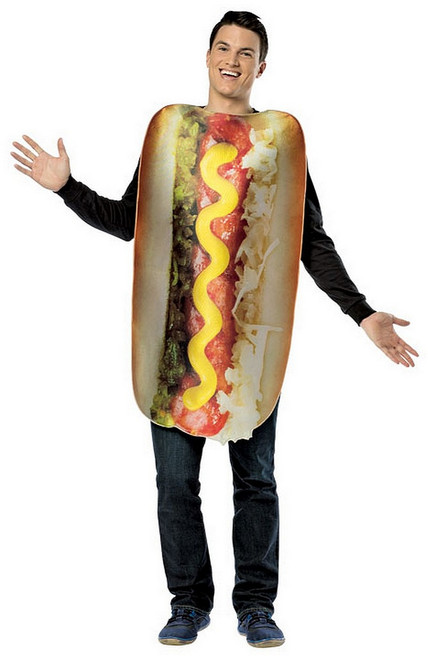 Costume Hot dog complet Pour Adulte