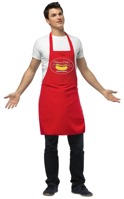 Tablier du vendeur de hot dog