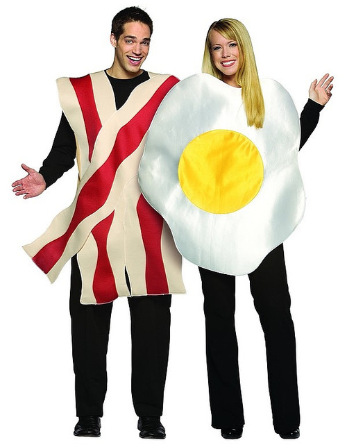 Costume Bacon et %u0152uf