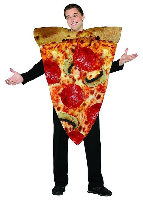 Tranche de Pizza aux poivrons et aux champignons