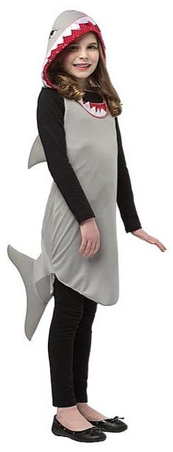 Robe Shark Tween Costume