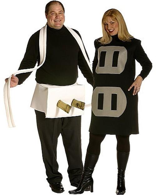 Costume Prise de courant Taille plus