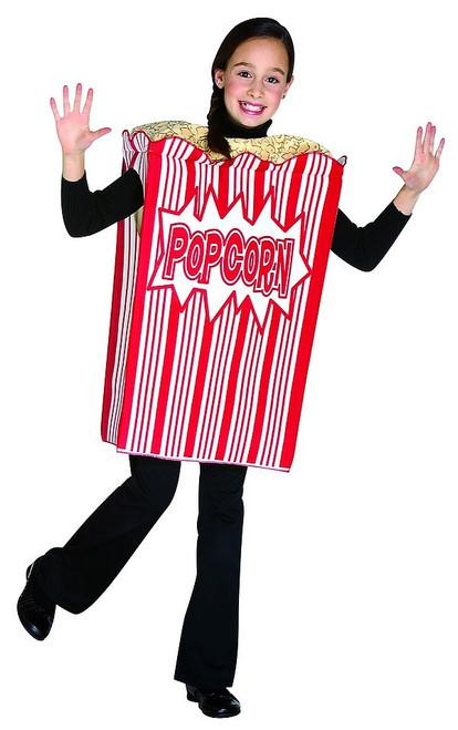 Costume de Boite de Pop Corn