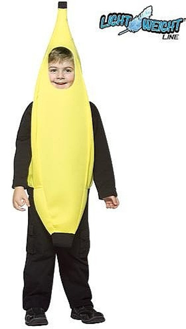 Costume de Banane Délicieuse pour Enfant