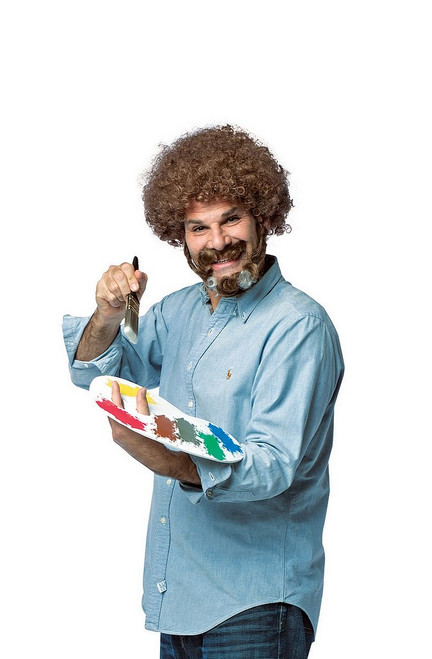 Bob Ross Costume Kit