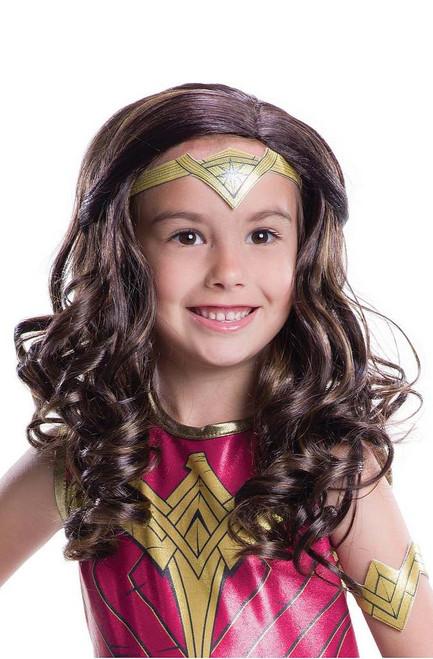 Wonder Woman enfant perruque