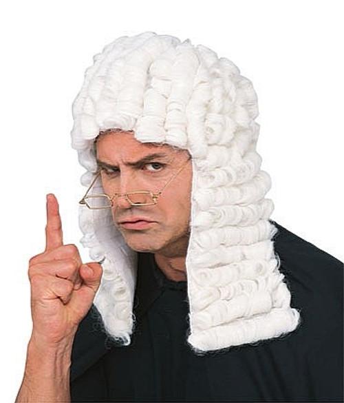 Juge Costume perruque
