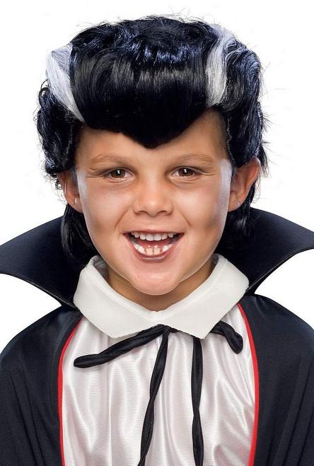 Vampire perruque enfant