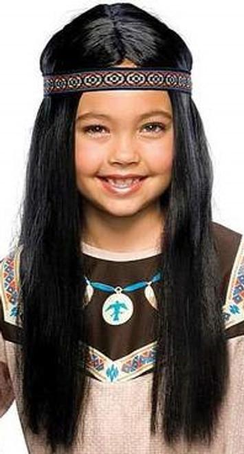 Perruque Noir Enfant