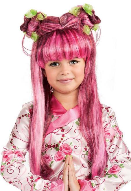 Princesse asiatique perruque enfant