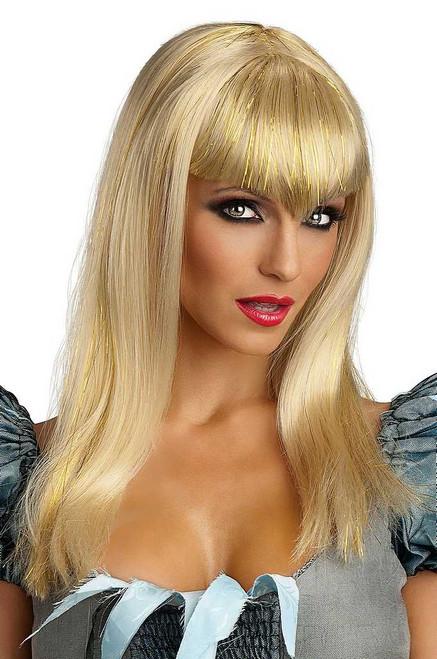 Glitter Vamp perruque blonde