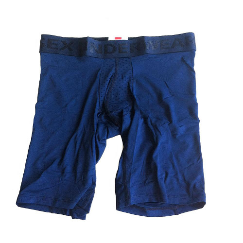 Bleu marine Boxer Microfibre