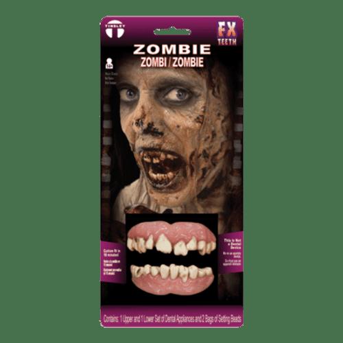 Zombie dents Prosthetics