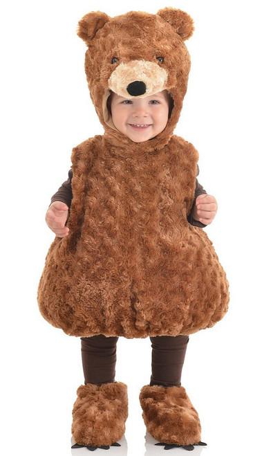 Costume d'ours en peluche