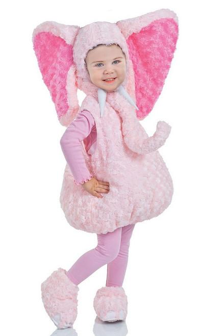 Costume d'Elephant Rose pour Tout Petit