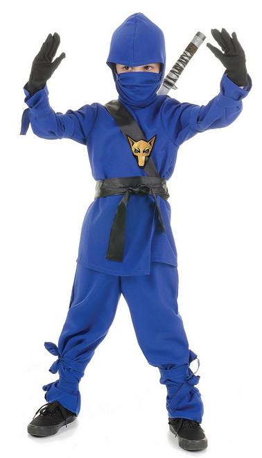 Costume Ninjago Ninja Bleu pour Enfant