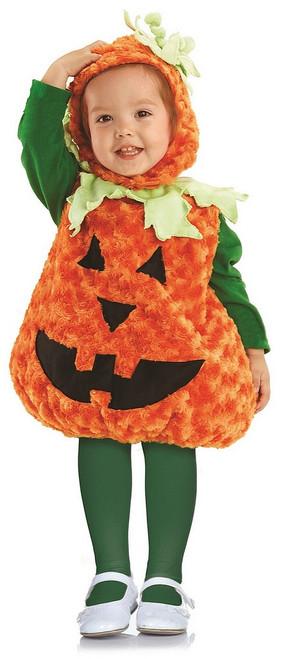 Costume de la Citrouille en Peluche pour Bambin