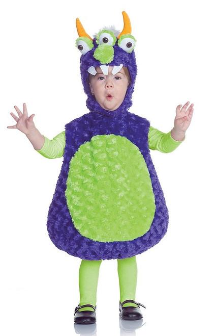Costume de Monstre à Trois Yeux