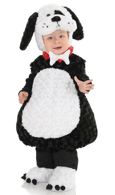 Chiot en blanc et noir pour Bambin