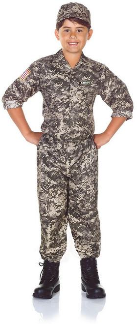 Enfant Armée Camo Costume