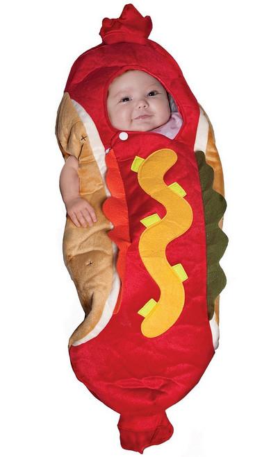 Costume de Ptit Hotdog Enveloppe pour Bébé