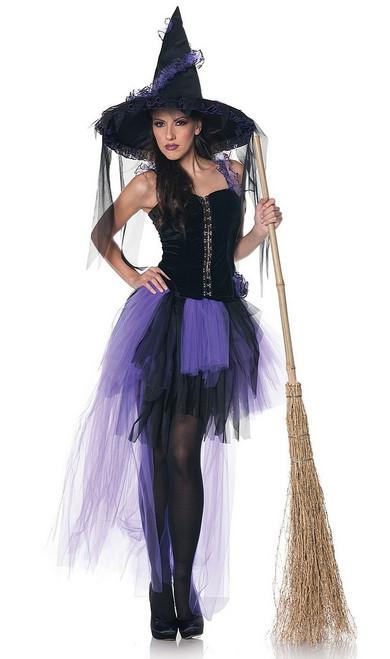 Costume de sorcière magie noire