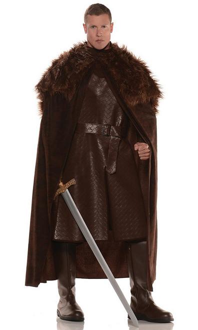 Cape de jeu Marron Thrones type Renaissance