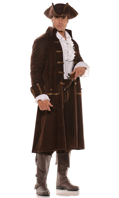 Costume du Pirate Capitaine Barrett