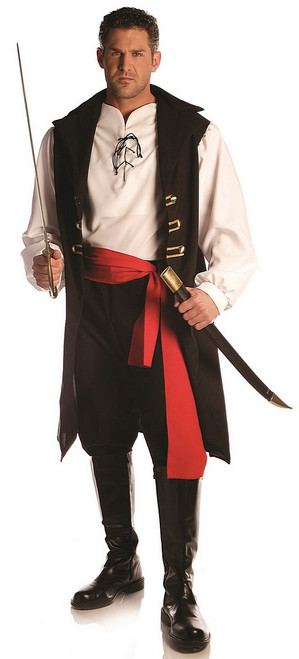 Costume du Capitaine Coupe-gorge