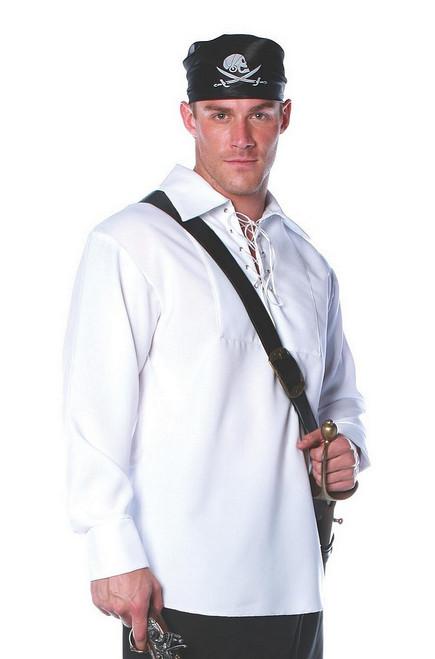 Chemise blanche de Pirate