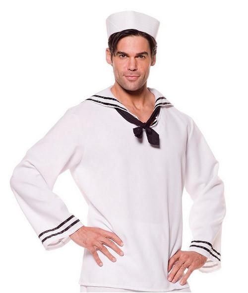 Chemise Blanche de Marin pour Hommes
