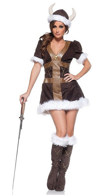 Costume de Princesse Viking