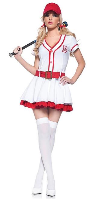 Costume Chérie Joue au Baseball