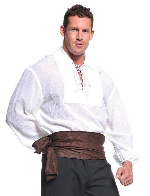 Chemise Blanche de Pirate Classique