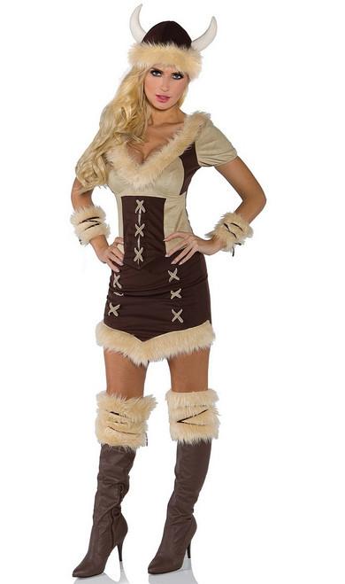 Costume de reine Viking
