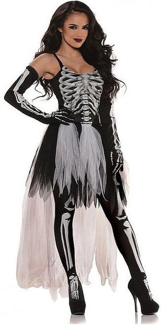 La Robe Sexy de Mme Squelette