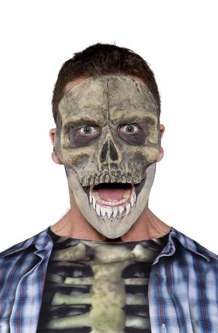 Masque demi-crâne Visage
