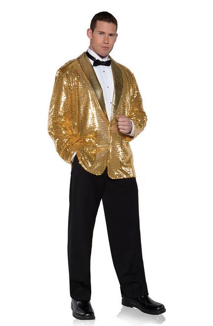 Veste à sequins d'or
