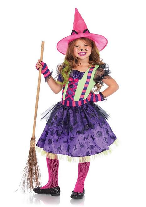Costume de la Sorcière Chat Noir  pour Enfant