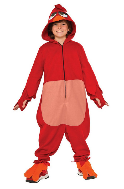 Costume Angry Birds Rouge Onesie Enfant