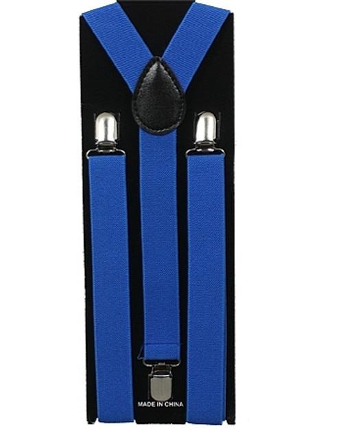 Bleu adulte Suspenders