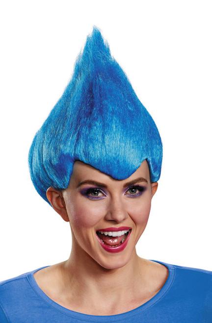 Trolls bleu Wacky perruque